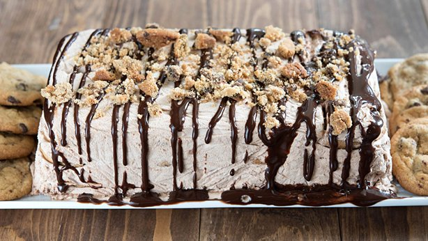 Icebox Cookie Cake