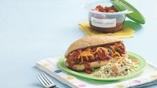Honey Barbecue Meatball Sandwiches Recipe
