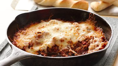 Easy Skillet Pizza Dip