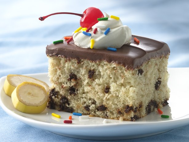 Banana Split Cake