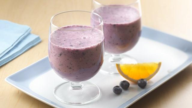 Blueberry-Orange Smoothies