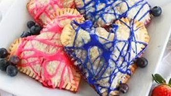 Boozy Valentine Hand Pies