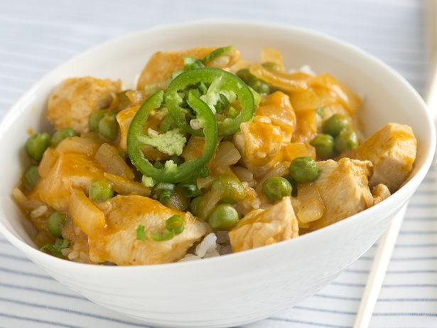 Pumpkin and Thai Red Curry Chicken