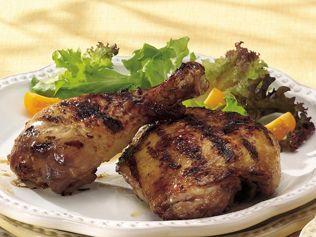 Grilled Asian Glazed Barbecue Chicken