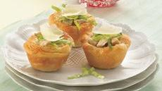 Mini Chicken Caesar Cups Recipe