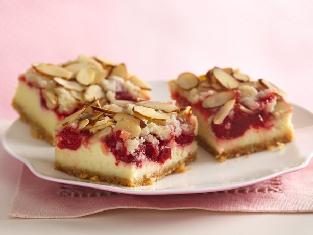 Image of Almond Streusel-cherry Cheesecake Bars, Betty Crocker