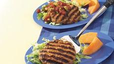 El Paso Grilled Turkey Patties Recipe