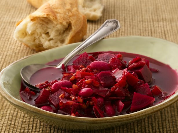 Rye Berry Borscht