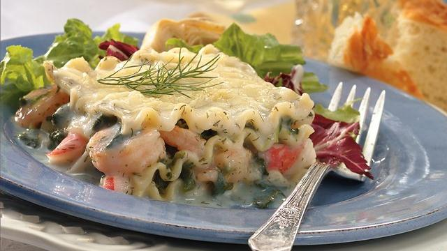 Seafood Lasagna