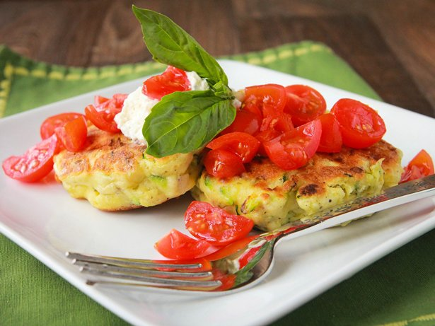 Zesty Zucchini Corn Cakes