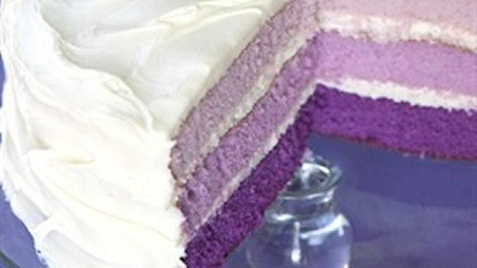 Purple-rific Layer Cake recipe - from Tablespoon!