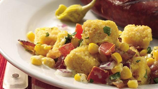 Southwest Cornbread Salad