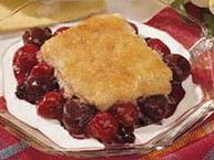 Cherry-Berry Cobbler 