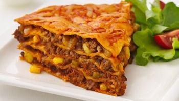 Healthified Beef Enchilada Pie