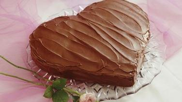 Chocolate Sweetheart Cake
