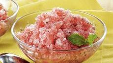 Watermelon Mint Granita Recipe