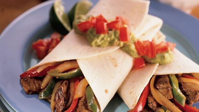 Southwestern Beef Fajitas