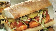 New Orleans Barbecued Shrimp Po' Boys Recipe