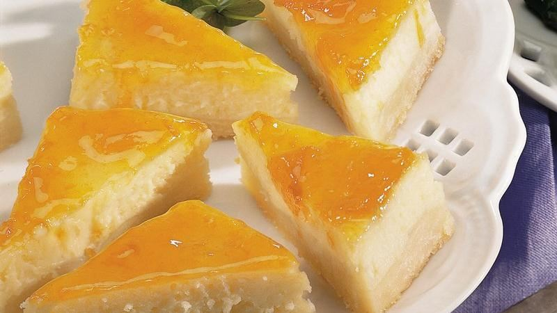 Apricot Bars With Cardamom-Butter Glaze Recipe — Dishmaps