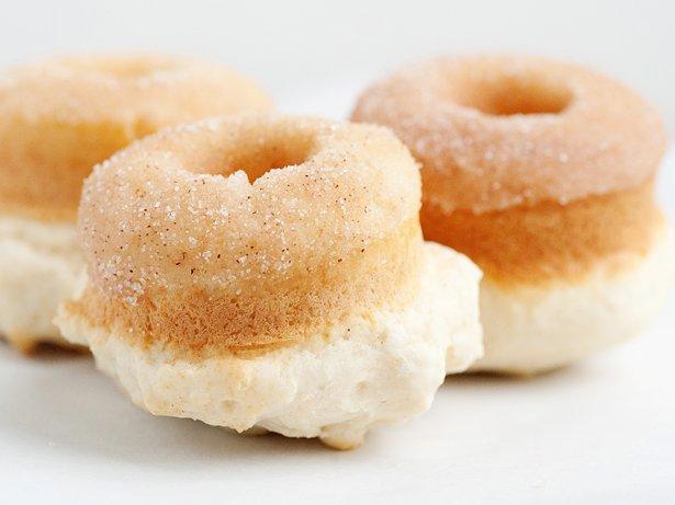 Baked Cinnamon Sugar Doughnuts recipe from Betty Crocker