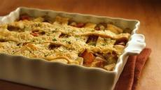 Country Chicken Bacon Pot Pie Recipe