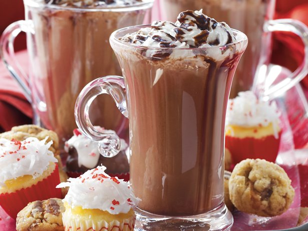Slow Cooker Deluxe Hot Chocolate Buffet