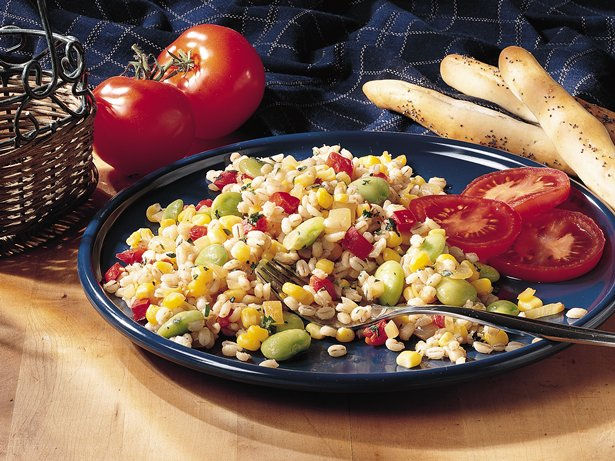 Barley-Vegetable Sauté