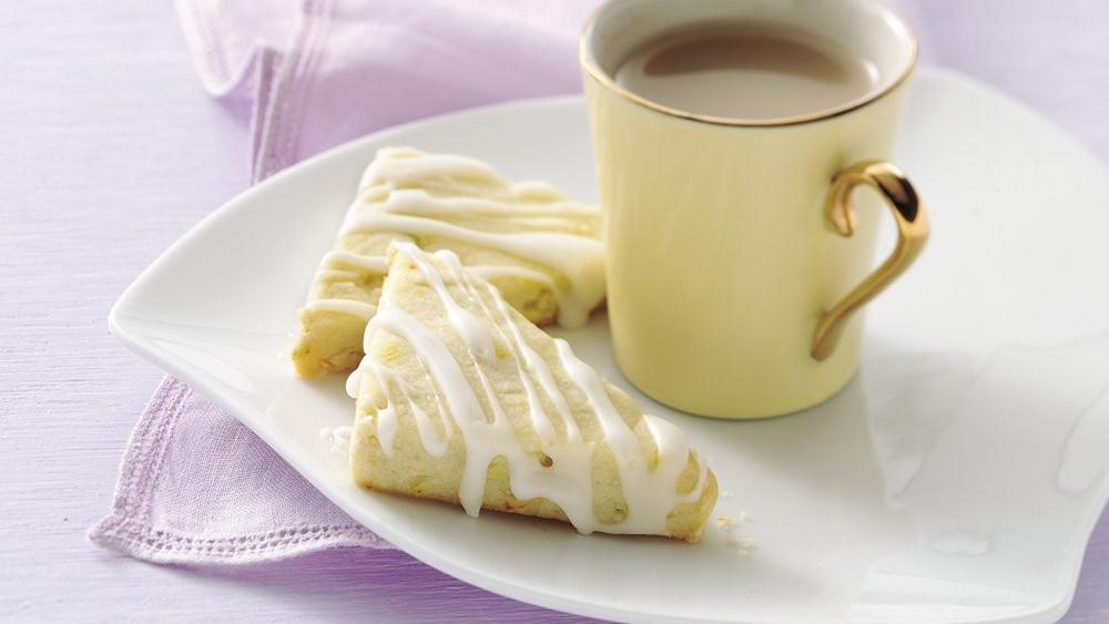 Citrus Shortbread Cookies