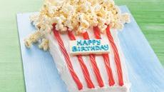 Poppin' Up Happy Birthday Cake Recipe