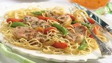 Turkey Scaloppine with Vegetables Recipe