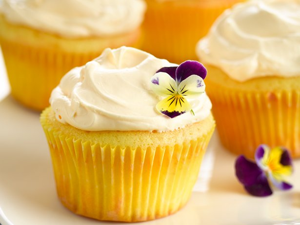 Lemon Crme Cupcakes