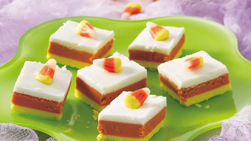 Candy Corn Fudge recipe from Pillsbury.com