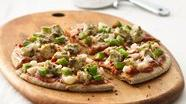 Pesto Chicken Pizzas