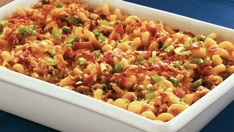Texas Chili Pasta Bake