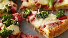 Harvest Vegetable Pizza Recipe