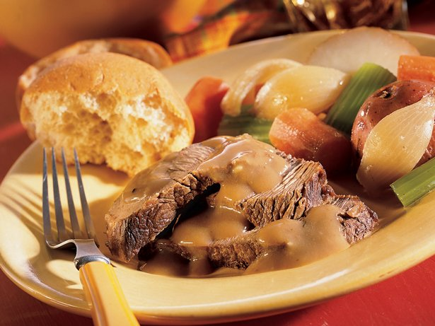 Pot Roast and Gravy