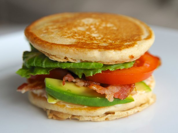 California BLT Pancake Sandwich
