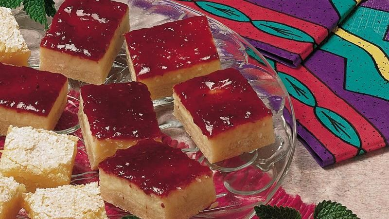 Raspberry Cheesecake Bars