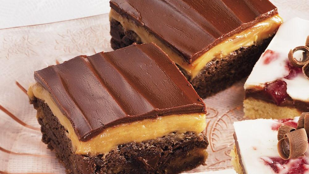 Peanut Butter-Honey Brownies