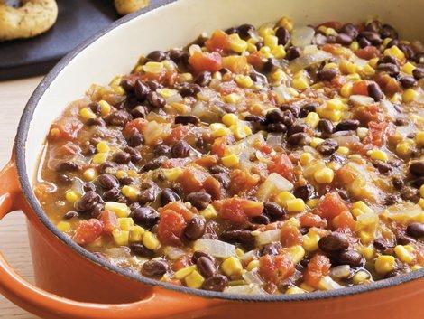 Black Bean- Pumpkin Soup