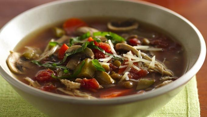 Slow-Cooker Italian Chicken-Lentil Soup