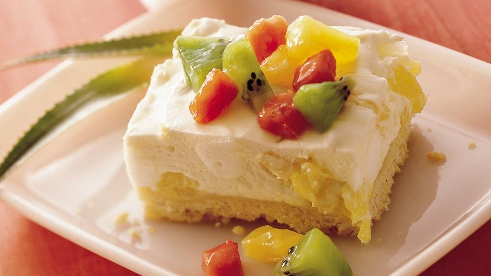 Light and Creamy Tropical Dessert