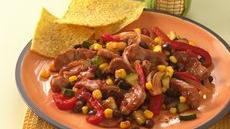 Southwest Pork and Black Bean Stir-Fry Recipe