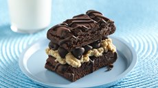 Peanut Buttery Brownie Sandwich Recipe