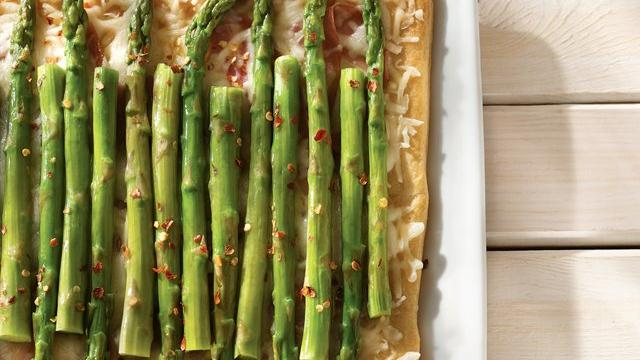 Ham and Asparagus Squares