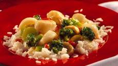 Stir-Fried Scallops with Broccoli Recipe