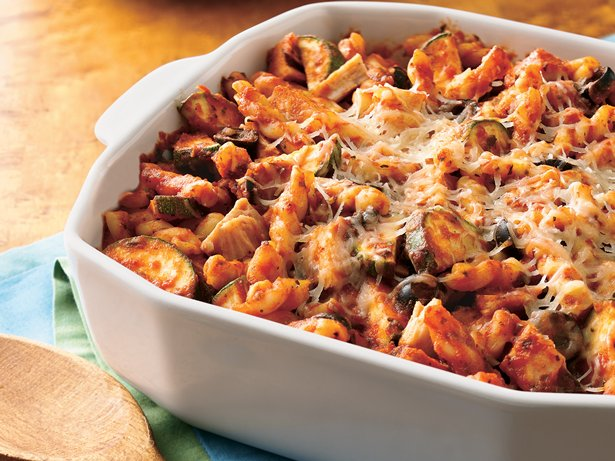 Tomato-Basil Turkey Casserole