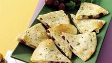 Cranberry-Turkey Quesadillas Recipe