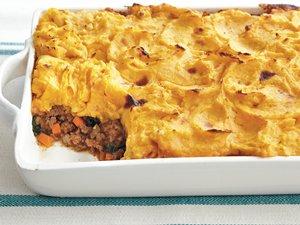 Sweet Potato-Topped Shepherd's Pie