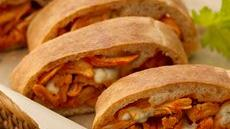 Buffalo Chicken Stromboli Recipe
